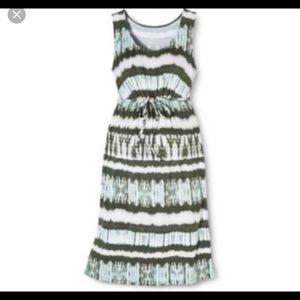 Liz Lange Maternity Green Tie Dress